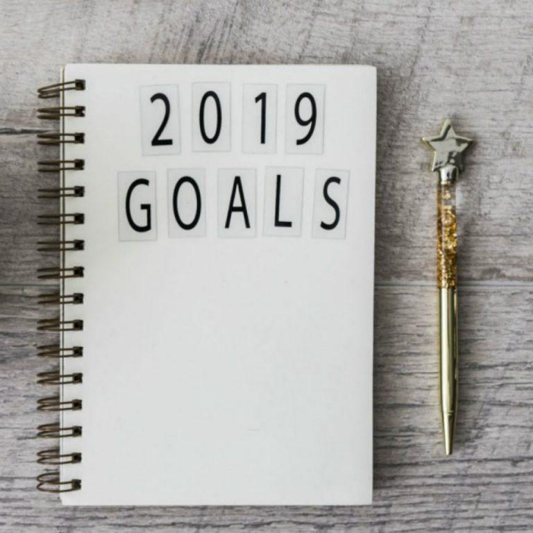 Mijn doelen voor 2019 + terugblikken naar 2018