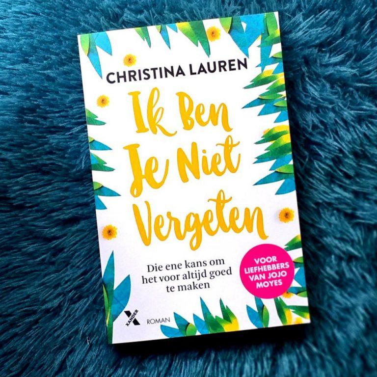 Ik ben je niet vergeten – Christina Lauren