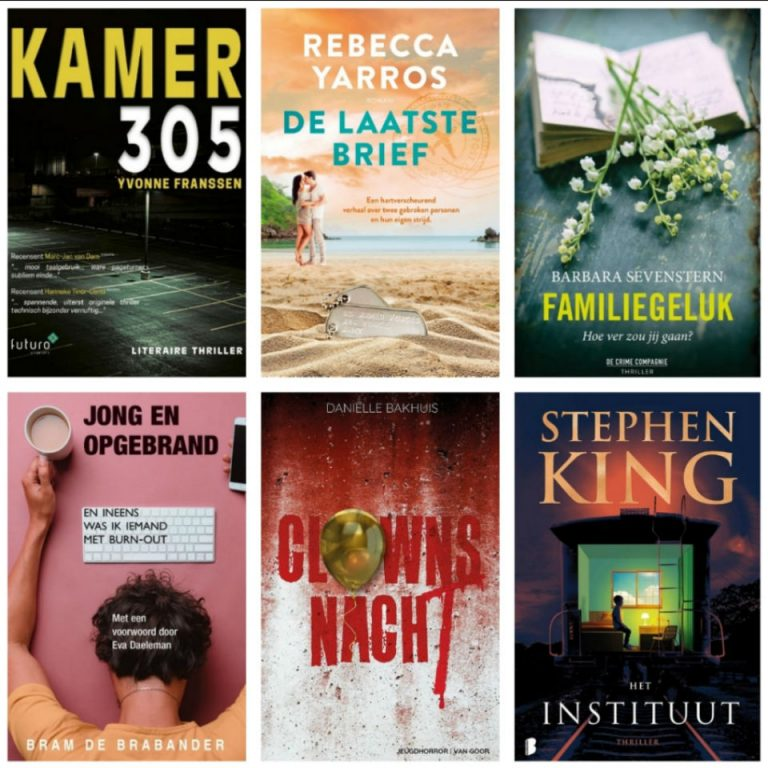 Deze boeken las ik in januari, februari en maart 2020