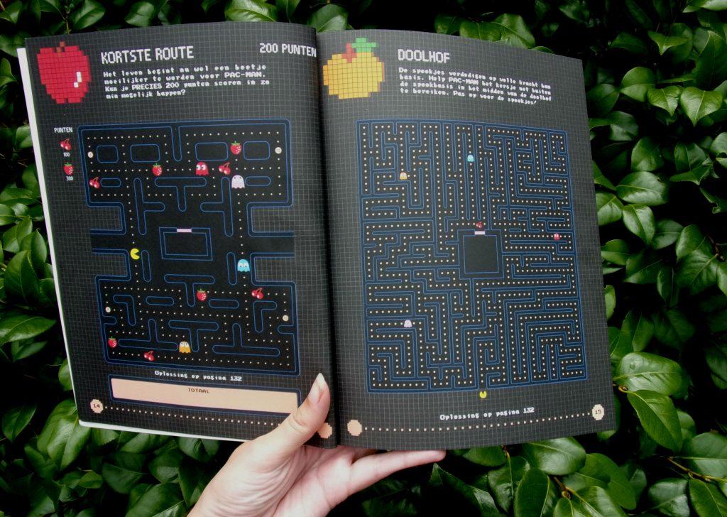 Pac-Man Puzzelboek 4