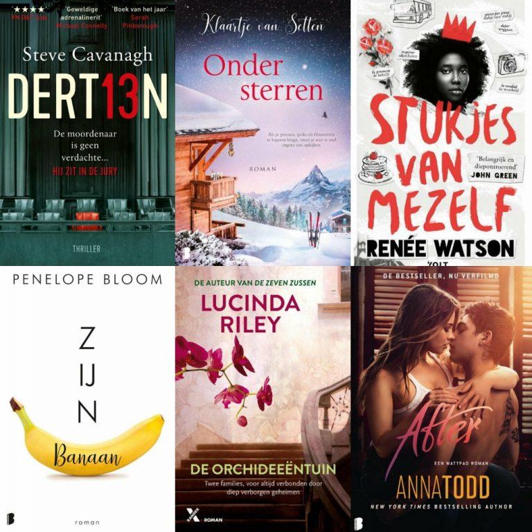 'Verschijnen in 2019' bekeken: deze boeken las ik niet