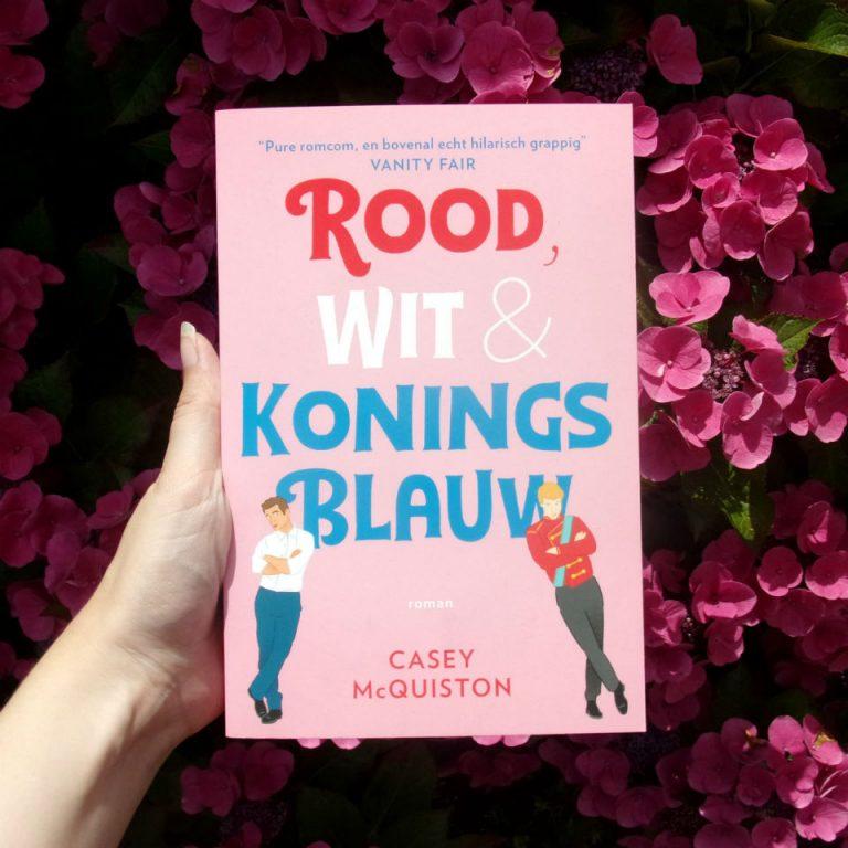 Blogtour: Rood, wit & koningsblauw – Casey McQuiston