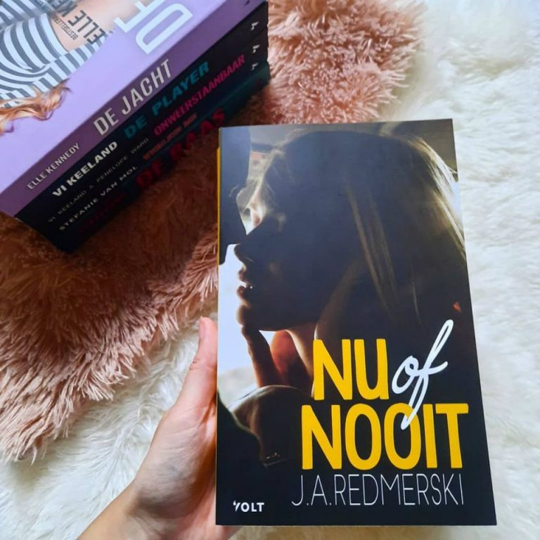 Nu of nooit – J.A. Redmerski