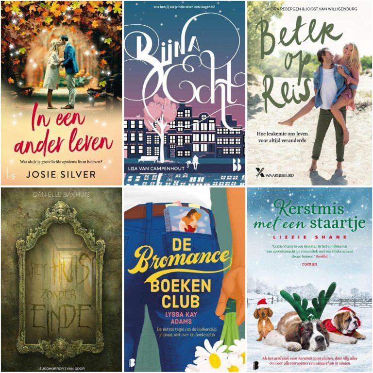 Deze boeken las ik in oktober, november en december 2020
