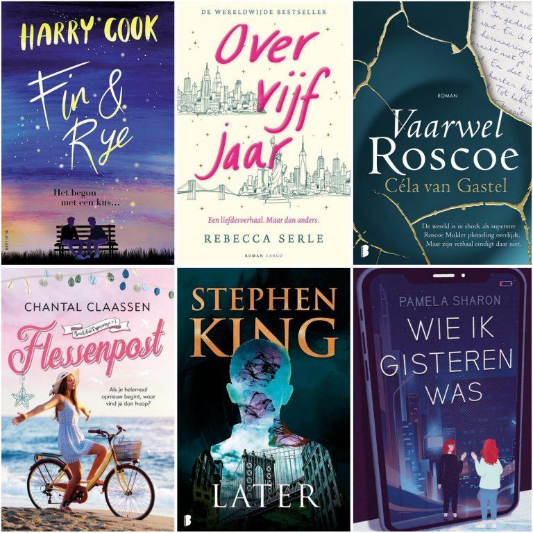 Deze boeken verschijnen in maart 2021