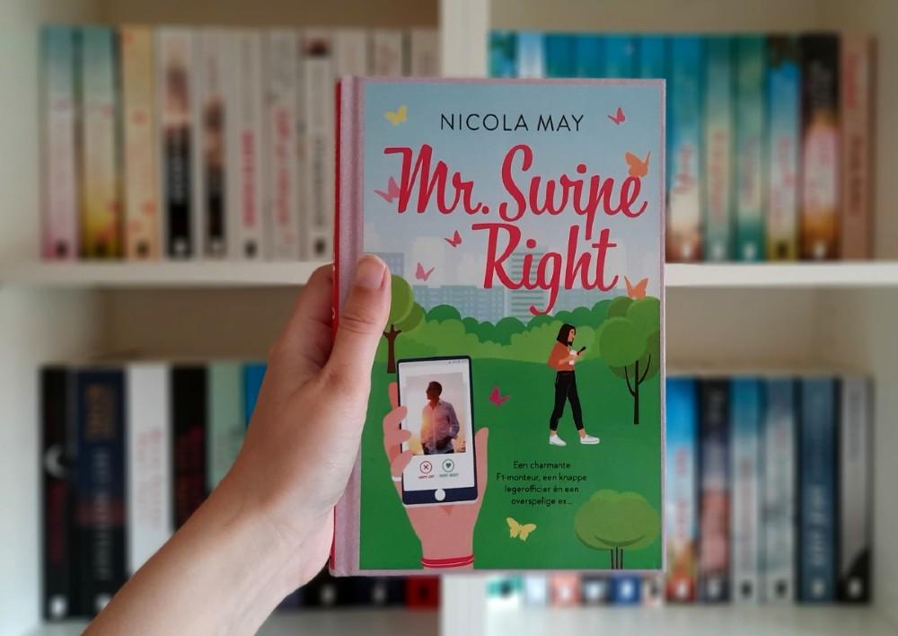 Mr. Swipe Right - Nicola May (april 2021)