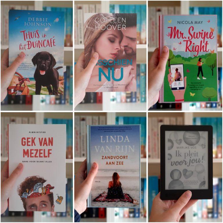 Reading Challenge   Deze boeken las ik in april 2021