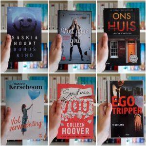 Boeken gelezen in mei 2021