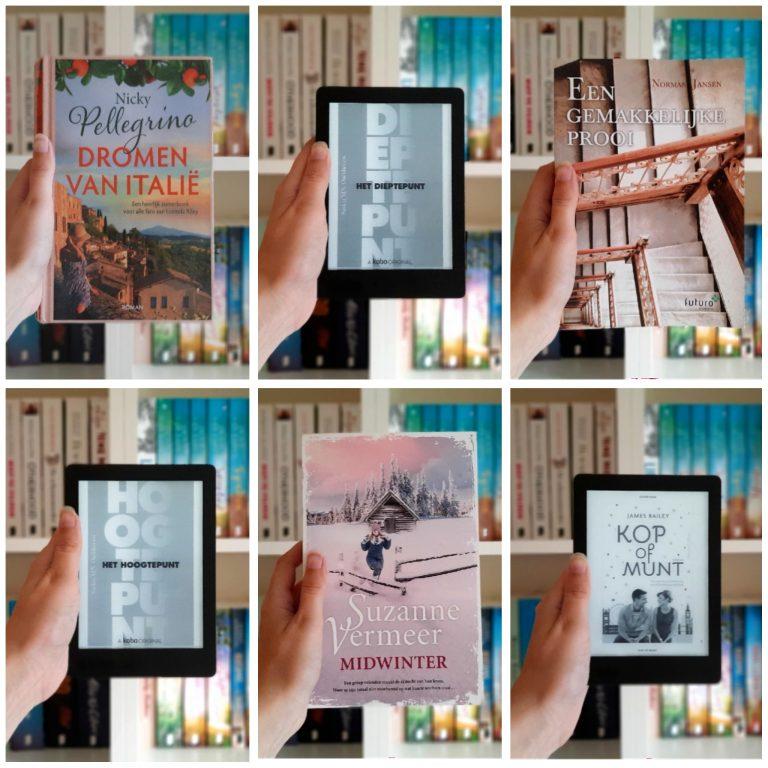 Reading Challenge   Deze boeken las ik in juli 2021