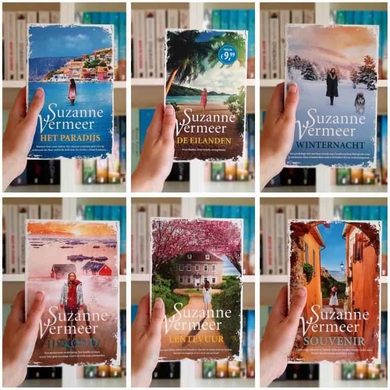 Overzicht   Mijn verzameling boeken van Suzanne Vermeer