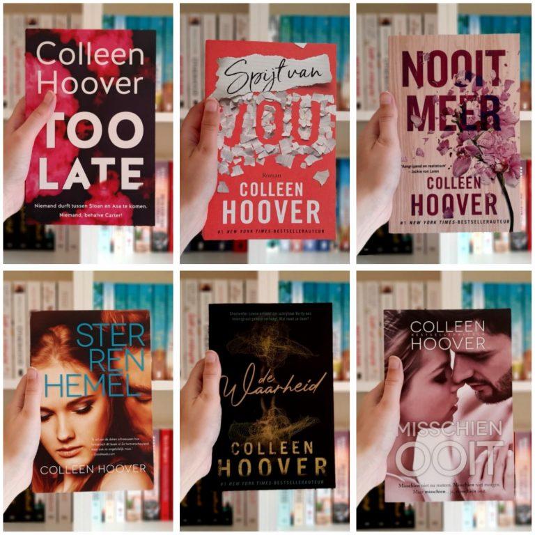Dit zijn alle vertaalde boeken van Colleen Hoover