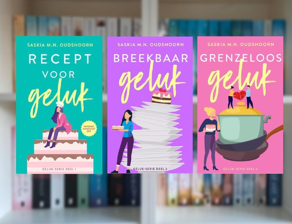 Geluk-serie - Saskia M.N. Oudshoorn